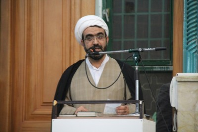 گزارش تصویری از مراسم چهلم شهدای گمنام در بوئین زهرا با حضور آیت الله صدیقی