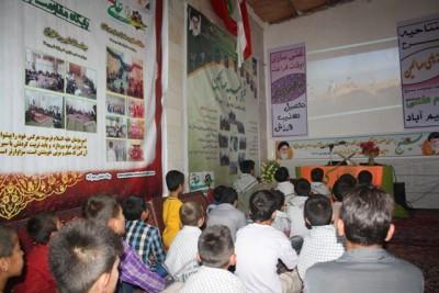 گزارش تصویری از مراسم افتتاحیه طرح جوانه های صالحین