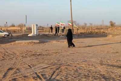 گزارش تصویری از مزار شهدای گمنام خوزنین