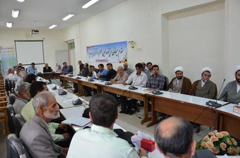 جلسه هماهنگی جهت حل و فصل مشکلات و ناهنجاریهای اجتماعی