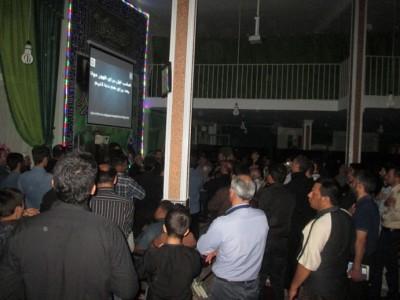 گزارش تصویری از شب های قدر در شهر سگزآباد