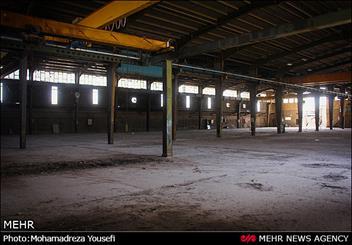 کارخانه های تولیدیی که متروکه شدند