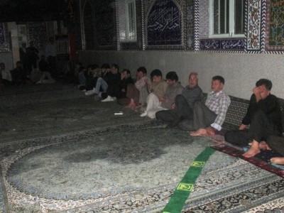 گزارش تصویری از مراسم شب قدر در مسجد چهارده معصوم(ع) بوئین زهرا
