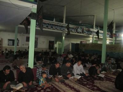 گزارش تصویری از مراسم شب قدر شب بیست و سوم ماه رمضان در عصمت آباد