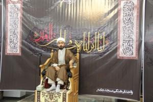 احیاء نوزدهم رمضان در مسجد جامع شهر بوئین زهرا