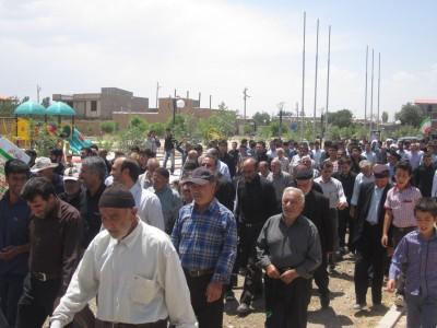 گزارش تصویری از مراسم راهپیمایی روز قدس در شهرک مدرس