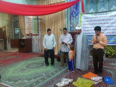 گزارش تصویری / تقدیر از فعالان و خادمان مسجد شهدای رحیم آباد