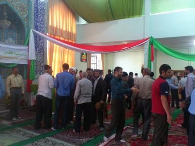 جشن طاعت و بندگی در مسجد شهدای رحیم آباد