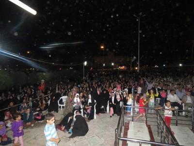 گزارش تصویری از جشن بزرگ میلاد امام حسن(ع) در شهر دانسفهان