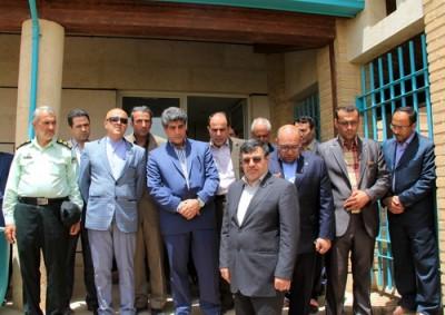 افتتاح مجتمع اقامتی آپادانا سرام شهرستان بوئین زهرا
