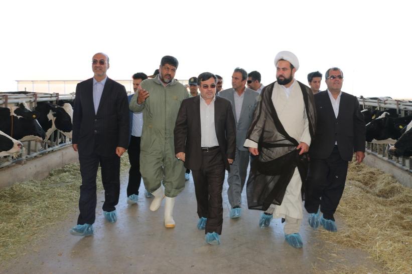 گزارش تصویری سفر یک روزه استاندار قزوین به شهرستان بوئین زهرا