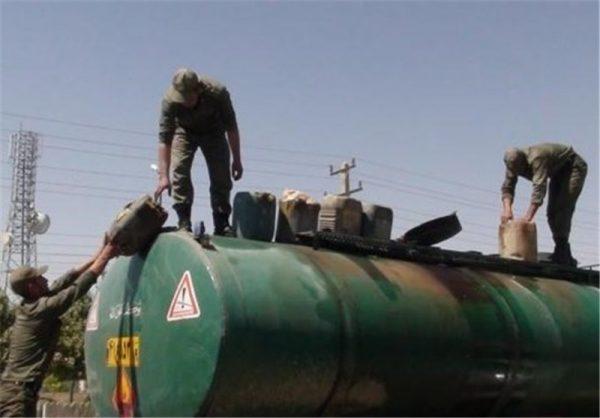 کشف دو هزار ليتر سوخت گازوئيل قاچاق در شهرستان بوئین زهرا