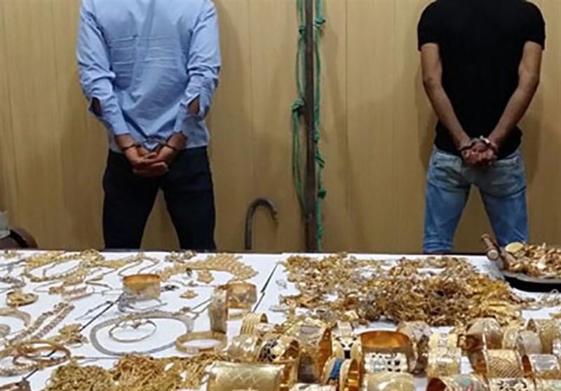 سارقان مغازه طلا فروشی در شال دستگیر شدند