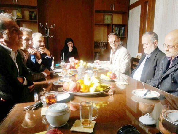 دیدار مدیرکل فرهنگ و ارشاد اسلامی استان قزوین با کارکنان شهرستان بوئین زهرا