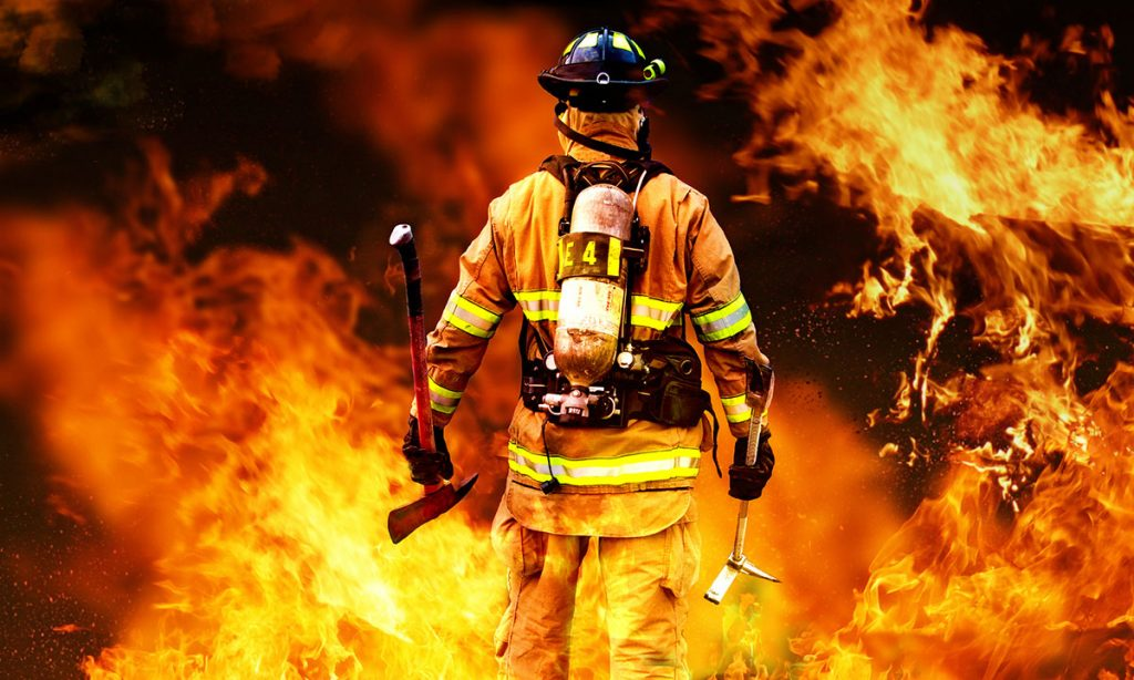 شهادت اولین آتشنشان مصدوم در بیمارستان