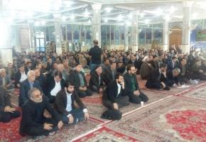 مراسم هفتمین روز درگذشت پدر شهیدان شیری برگزار شد