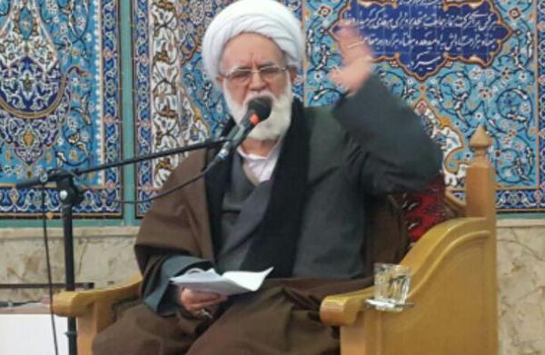 سخنرانی حجت الاسلام والمسلمین قابل مسئول نظارت و بازرسی انتخابات استان قزوین