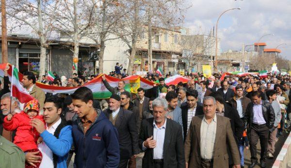 گزارش تصویری راهپیمایی یوم الله 22 بهمن شهر دانسفهان