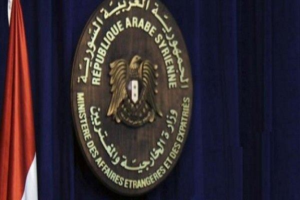 شکایت دمشق از دولت ترکیه به شورای امنیت و سازمان ملل