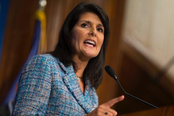 نماینده آمریکا در سازمان ملل : باید ایران را از سوریه بیرون کنیم!