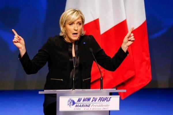مارین لوپن: اتحادیه اروپا خواهد مرد چون مردم آنرا نمیخواهند