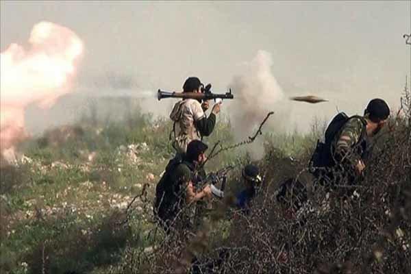 تسلط ارتش سوریه بر میدان نفتی جزل/ضربات مهلک به تروریستها