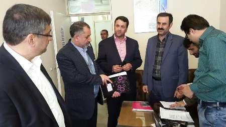 بازدید رئیس ستاد انتخابات قزوین از مراکز ثبت نام داوطلبان شوراها در شهرستان بوئین زهرا