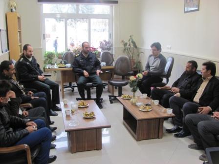 جلسه ساماندهی دامهای منطقه عشرت اباد بوئین زهرا برگزار شد