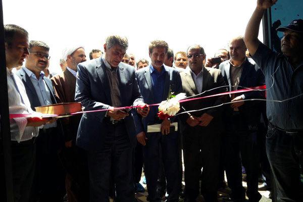 افتتاح یک واحد دامداری در شهرستان بوئین زهرا