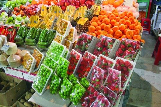 آخرین قیمت میوهها و نوبرانهها در بازار قزوین