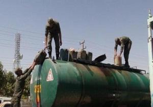 ۸ هزار لیتر سوخت قاچاق در بوئین زهرا کشف شد