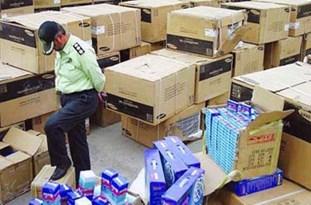 كشف 100 ميليون ريال كالای خارجی قاچاق در بویينزهرا