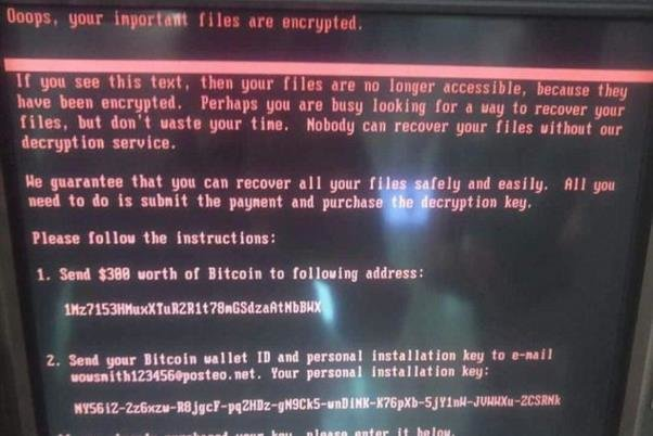 ویروسی خطرناکتر از واناکری؛ حمله ویروس پتیا به رایانه های جهان