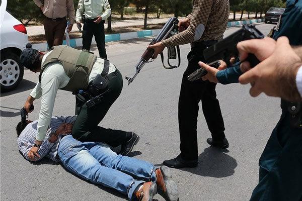 سرقت مسلحانه از بانک در قزوین ناکام ماند