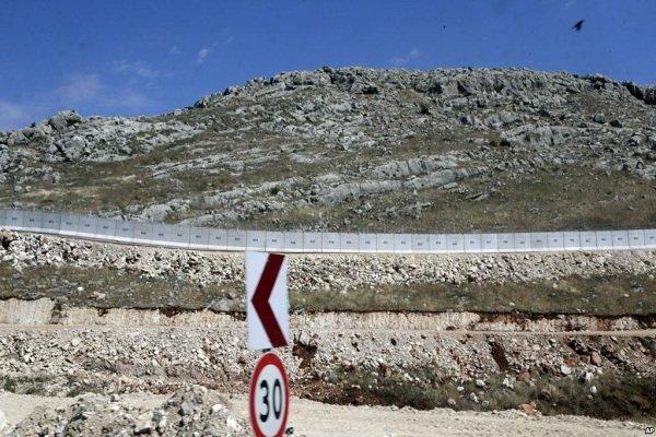ترکیه ساخت دیوار در مرز با ایران را آغاز کرد