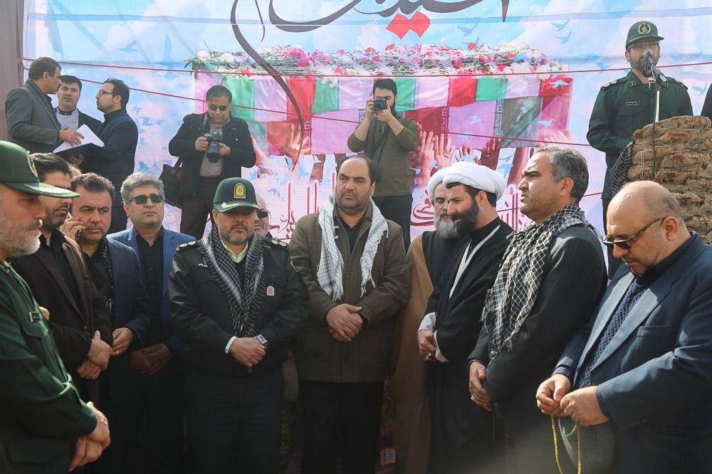 گزارش تصویری// تشییع پیکرهای پاک شهدای گمنام