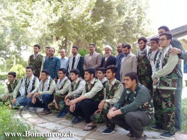 280 دانش آموز قزوینی در اردوی طرح یاوران ولایت شرکت کردند