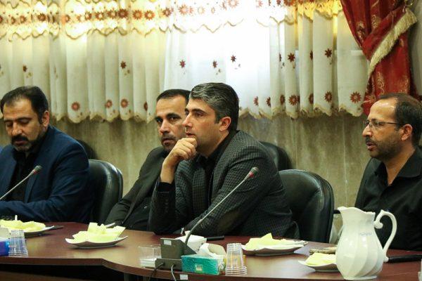گزارش تصویری// جلسه شورای اداری شهرستان با معارفه امام جمعه برگزار شد