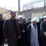 گزارش تصویری: استقبال از امام جمعه جدید بوئینزهرا