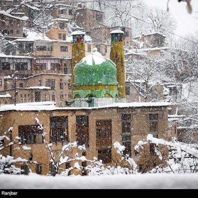 هواشناسی ایران ۹۹/۱۲/۱۳|سامانه بارشی جدید فردا وارد کشور میشود / بارش برف و باران ۵ روزه در ۲۳ استان