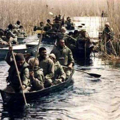 حضور فرماندهان قزوینی در عملیات خیبر