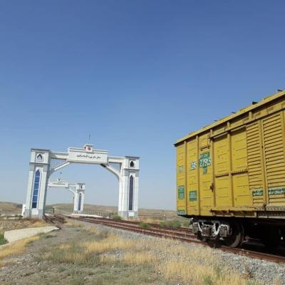 رکورد صادرات ریلی گلستان به ترکمنستان شکسته شد